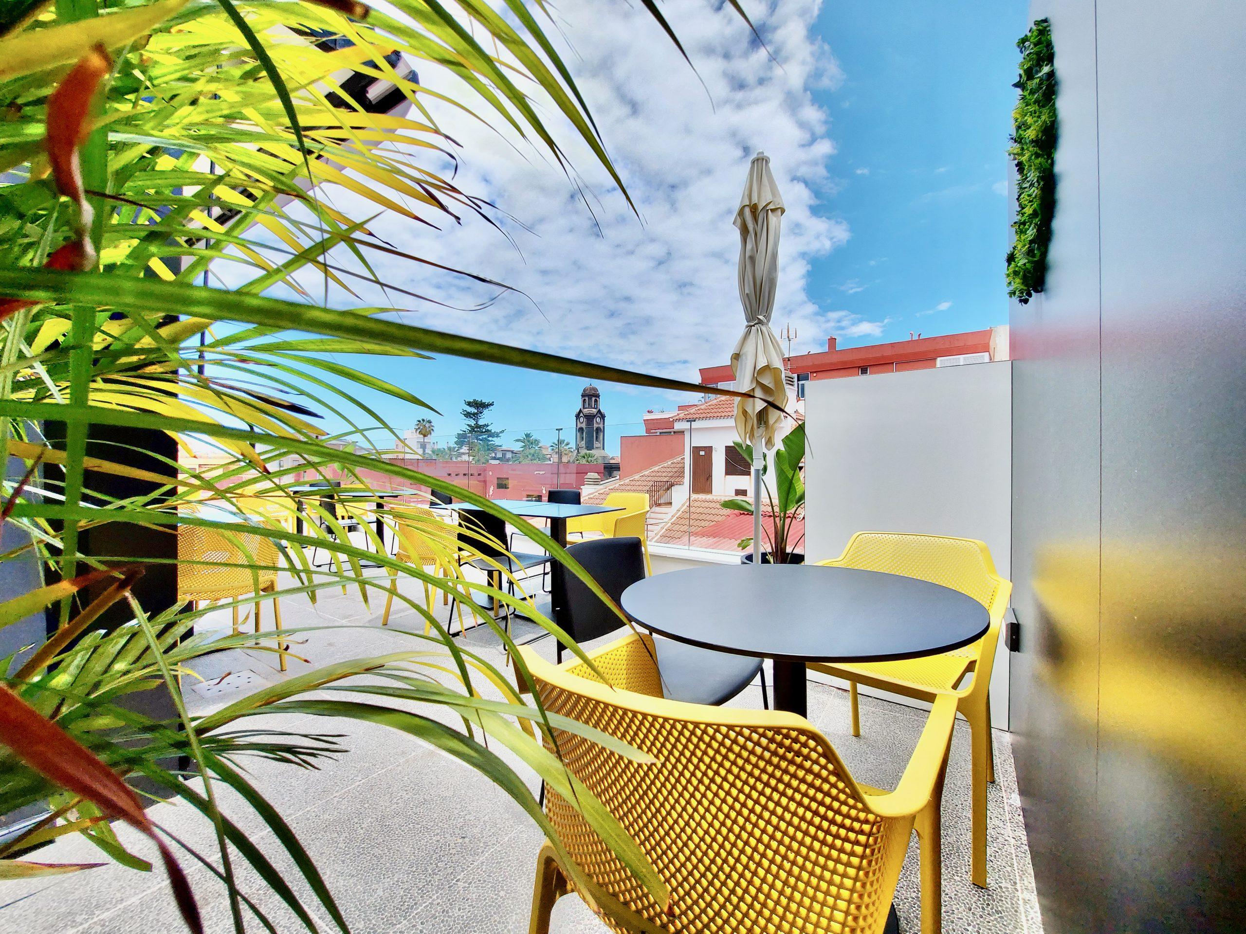 Café Caramba rooftop